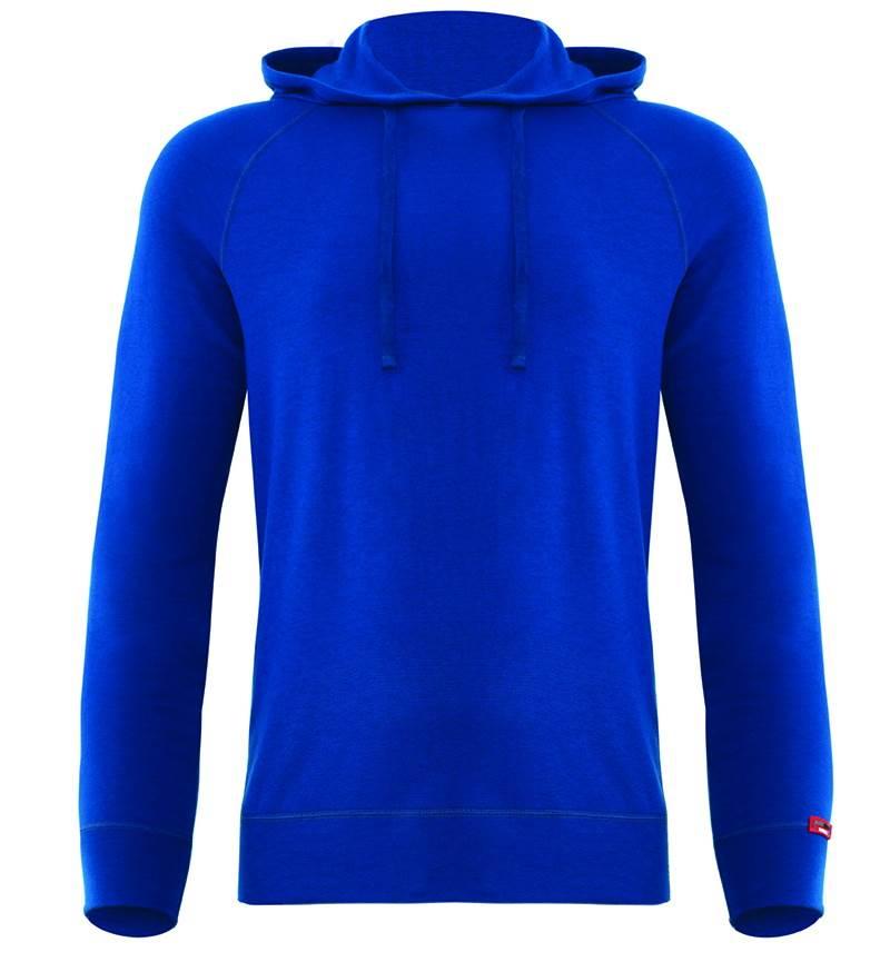 Erkek Termal Sweatshirt 2. Seviye 7468 - Mavi