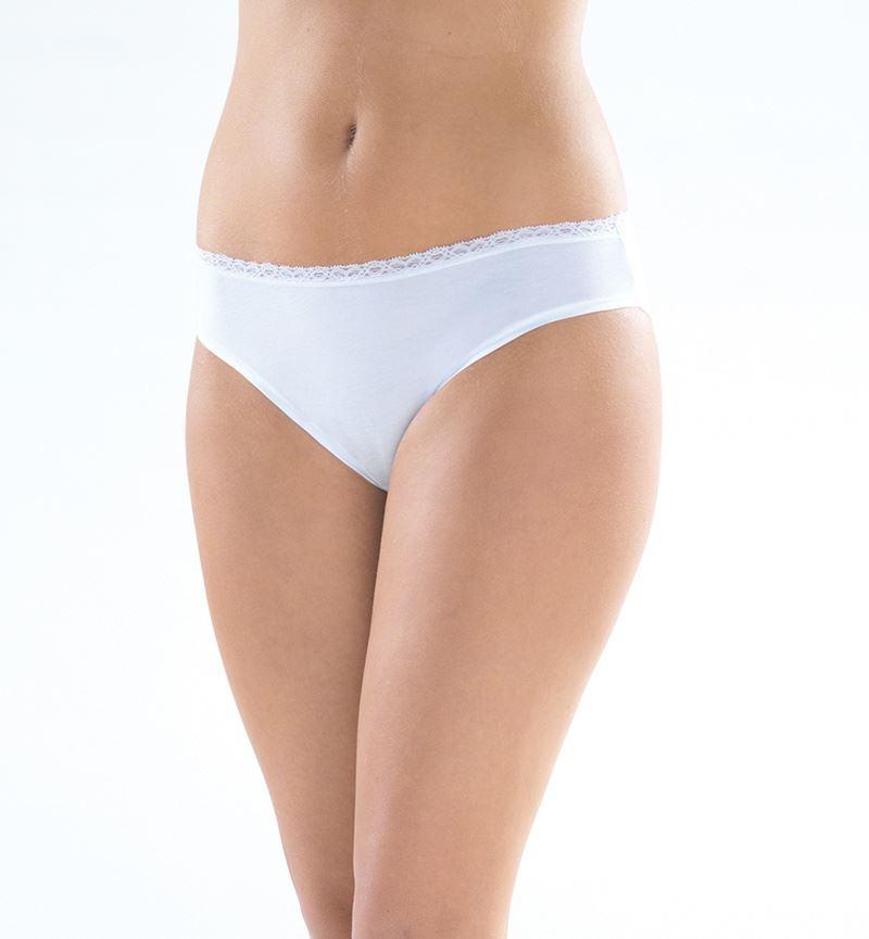 Aura Lace Kadın Slip Külot 1410 - Beyaz