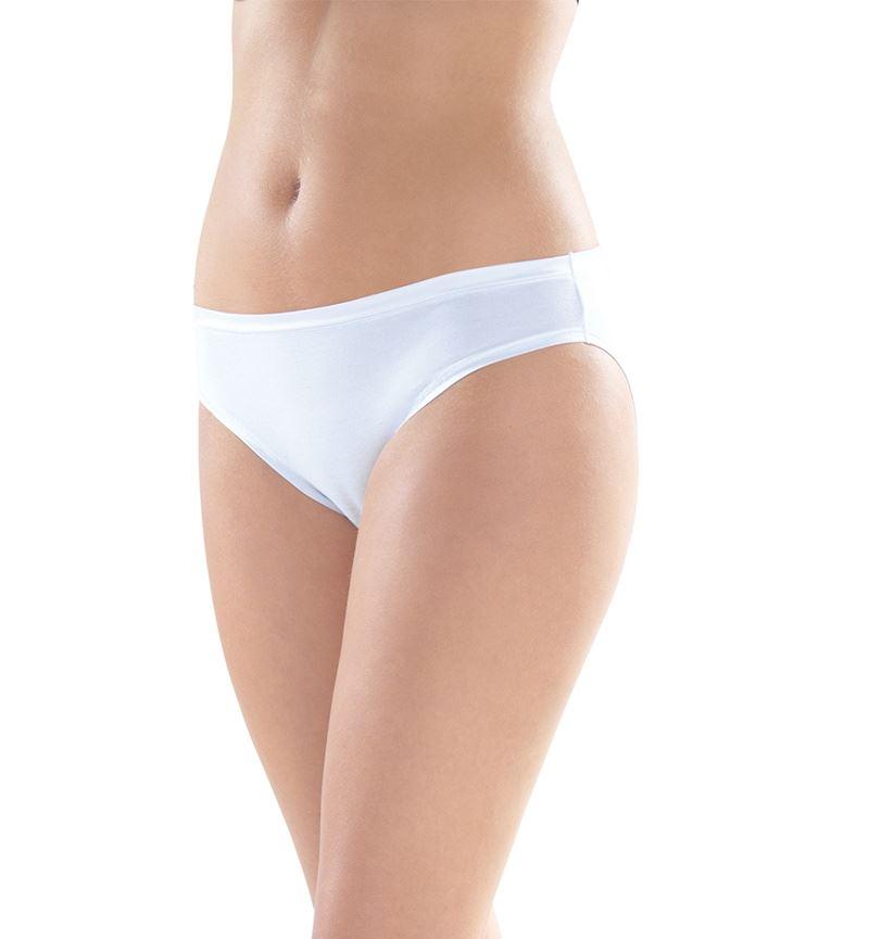 Kadın Slip Aura Satin 1400 - Beyaz