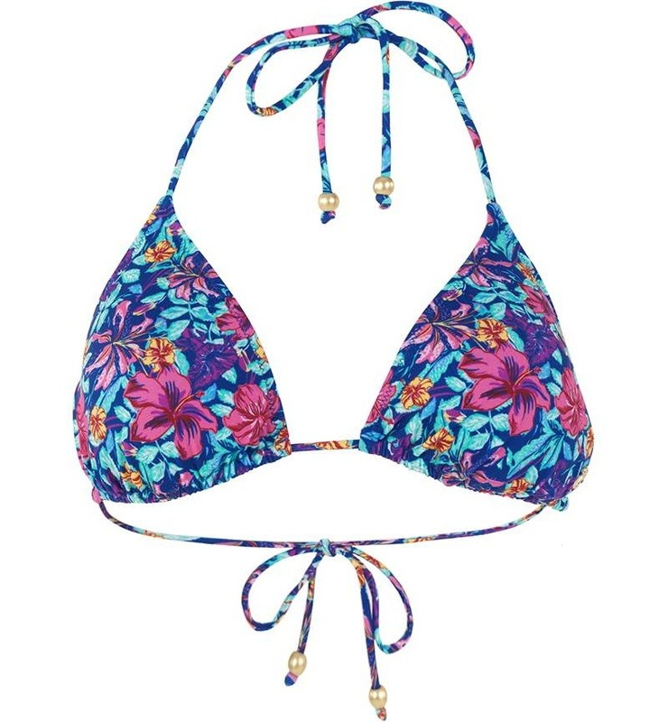 Bikini Üst 8353 - Egzotik Baskılı