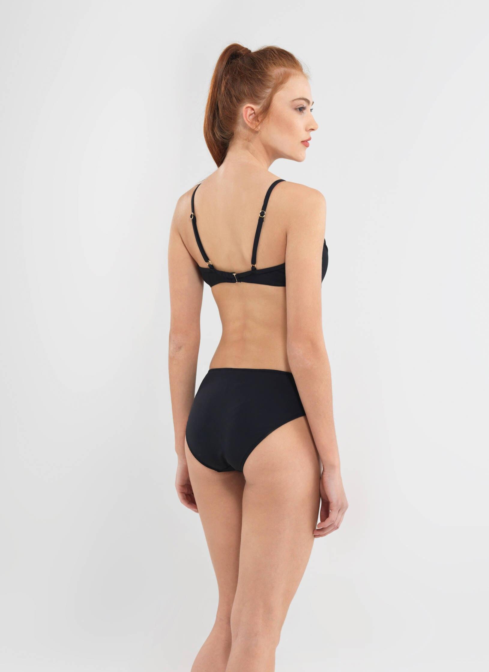 Bikini Üst 8592 - Siyah - Thumbnail