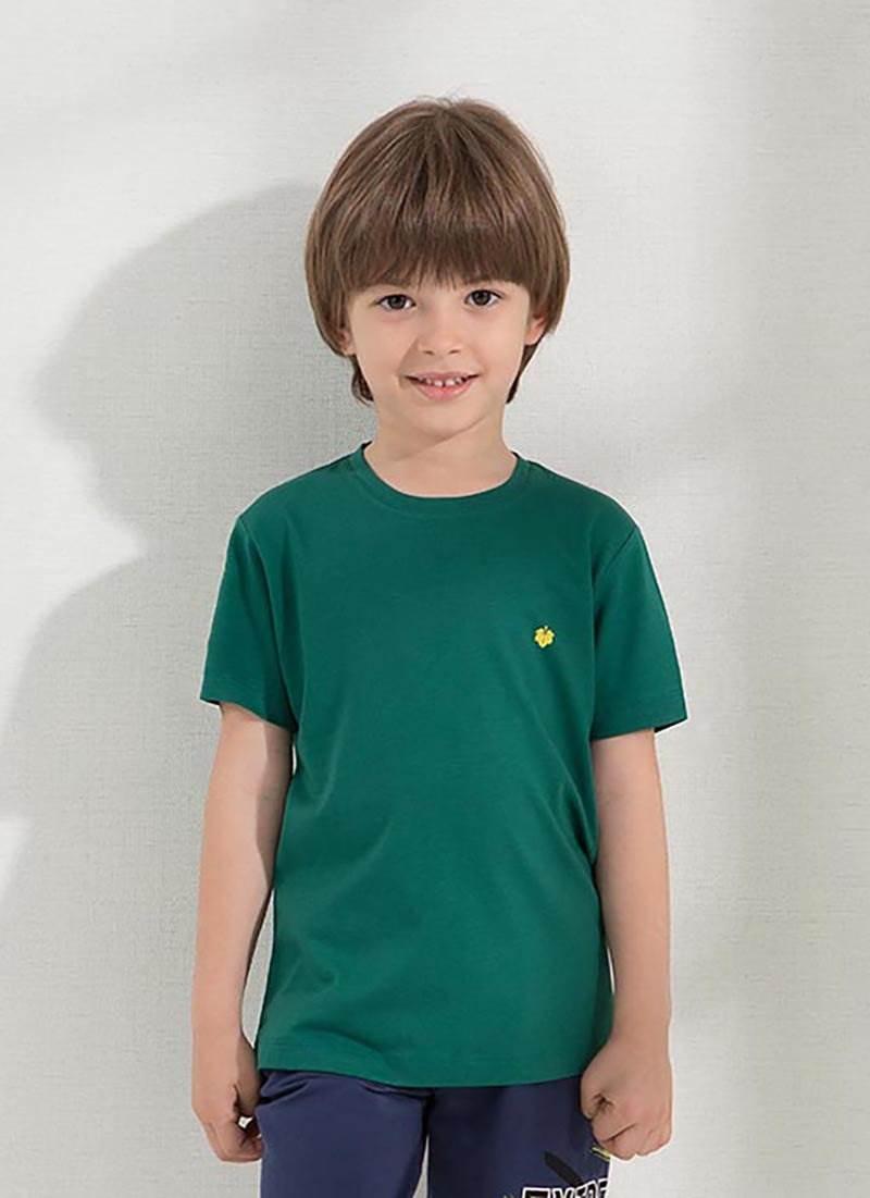 Erkek Çocuk T-shirt 7519 - Yeşil