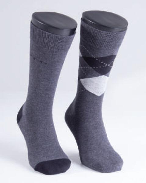 Blackspade - Erkek Çorap 2'li Paket 9909 - Antramelanj