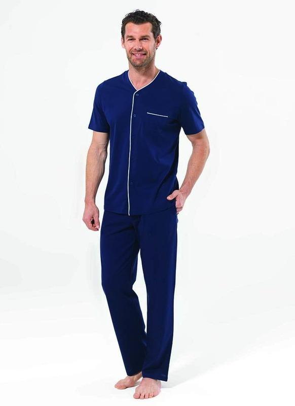 Erkek Pijama Takımı 7480 - Lacivert