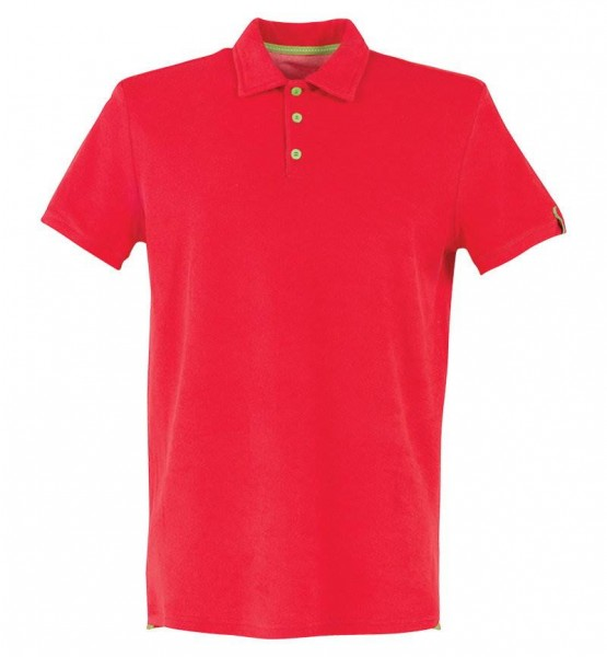 Blackspade Erkek Polo Yaka T-Shirt - Havlu Kumaş 8400 - Kırmızı