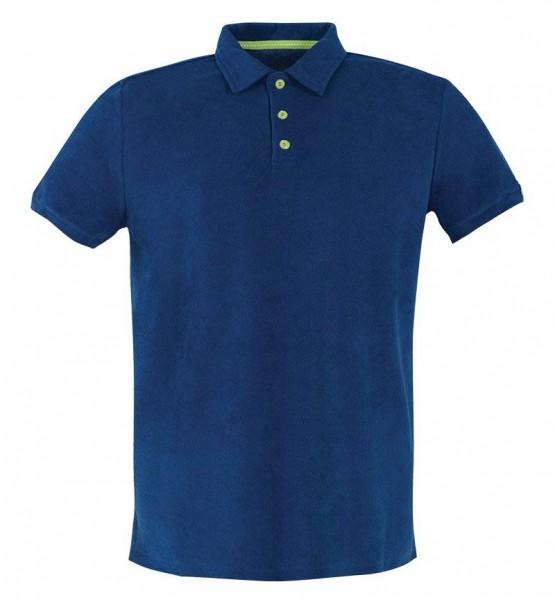 Blackspade Erkek Polo Yaka T-Shirt - Havlu Kumaş 8400 - Lacivert
