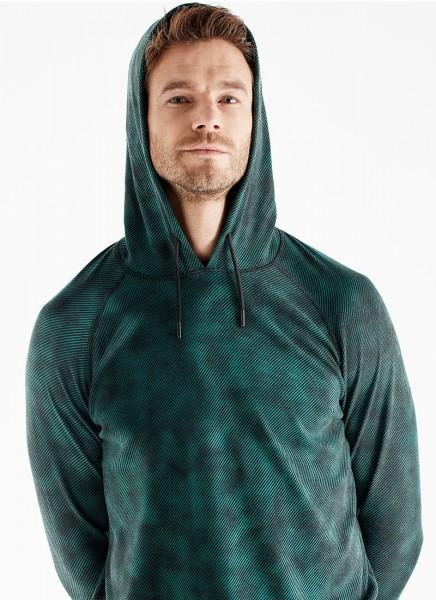 Blackspade Erkek Termal Sweatshirt 2. Seviye 7579 - Yeşil Desenli