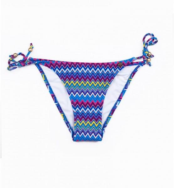 Blackspade Kadın Bikini Alt 8253 - Zigzag Desenli