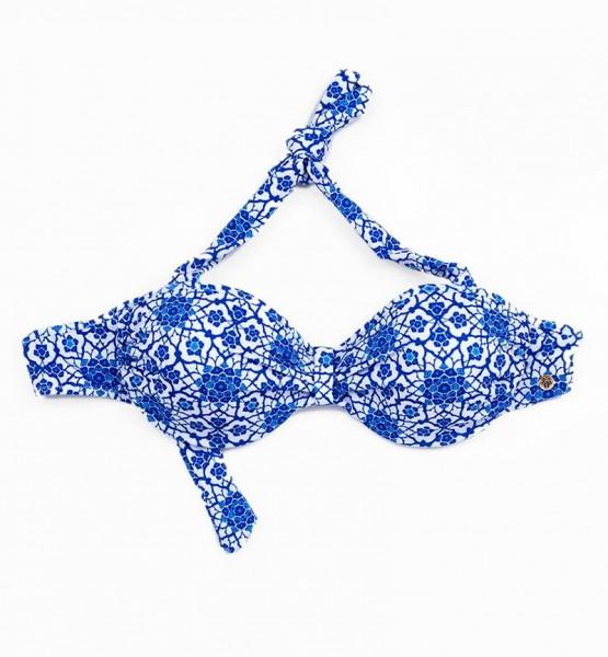 Blackspade Kadın Bikini Üst 8247 - Kilim Desenli