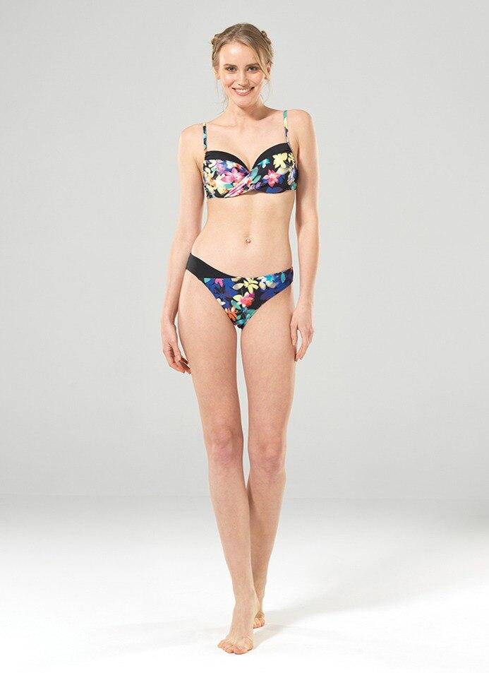 Kadın Bikini Üst 8849 - Çiçek Baskılı - Thumbnail