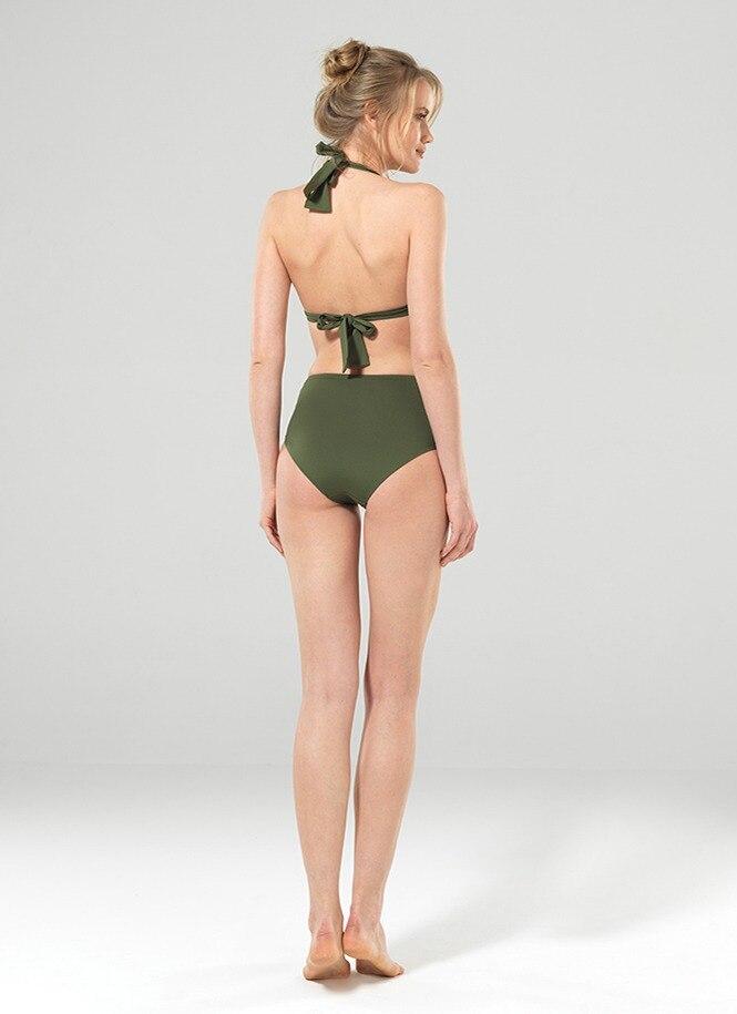 Kadın Bikini Üst 8932 - Yeşil - Thumbnail