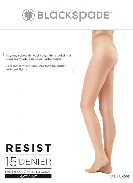 Blackspade Kadın Çorap 4002 - Siyah