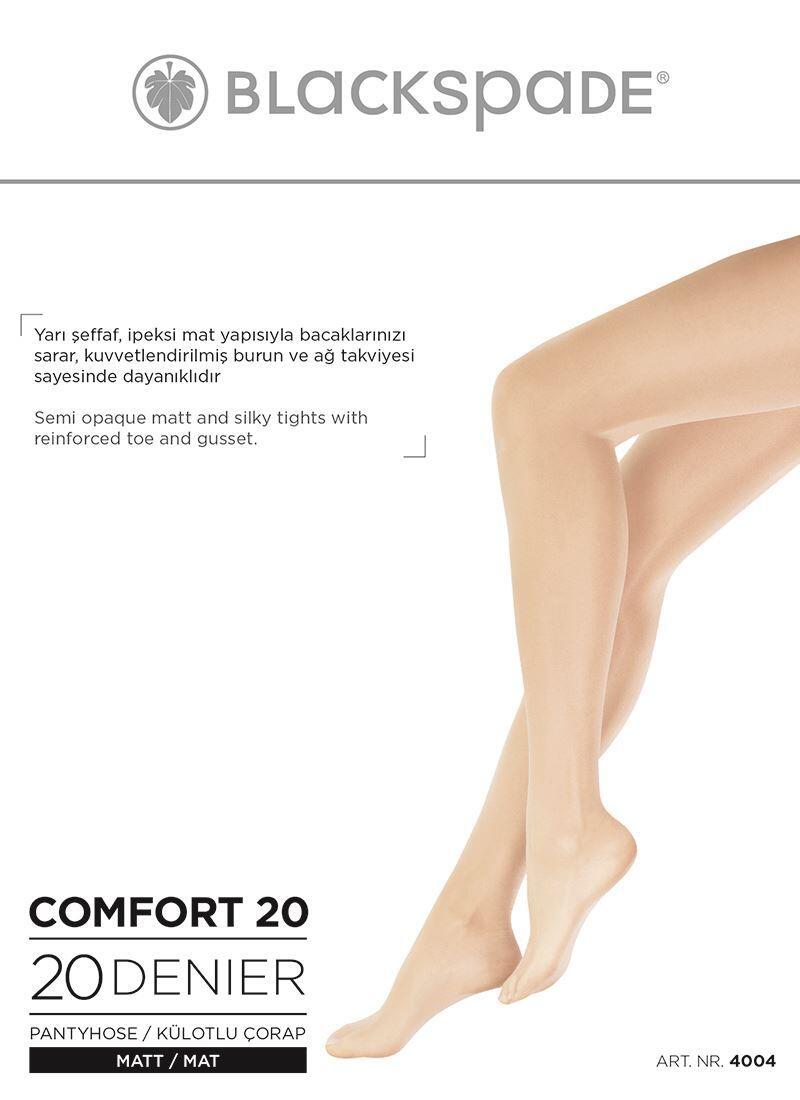 Kadın Külotlu Çorap 20 Denye 4004 - Ten