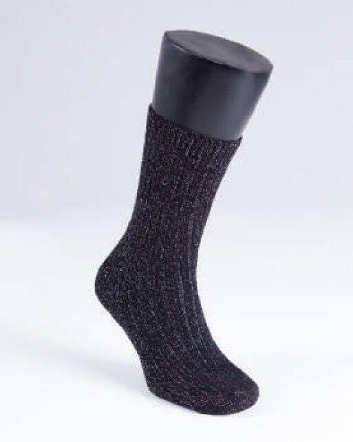 Kadın Çorap Simli 9915 - Siyah Gümüş