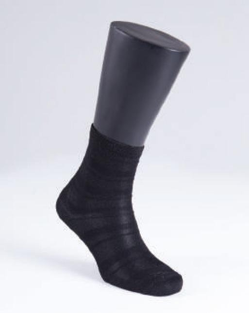 Kadın Çorap Simli 9916 - Siyah