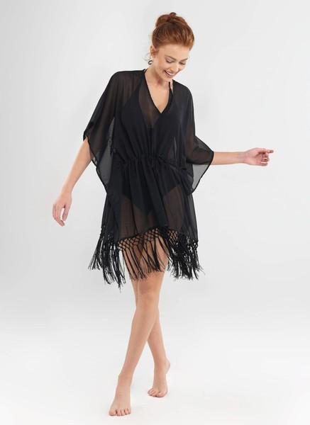 Blackspade - Kadın Pareo - 8653 - Siyah