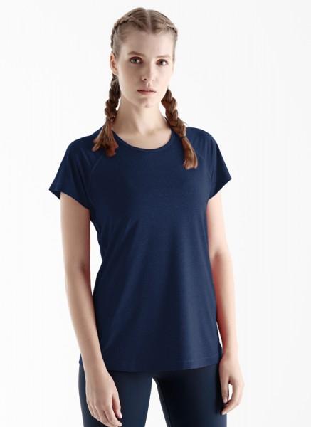 Blackspade Kadın Spor Tişört 70061 - Lacivert