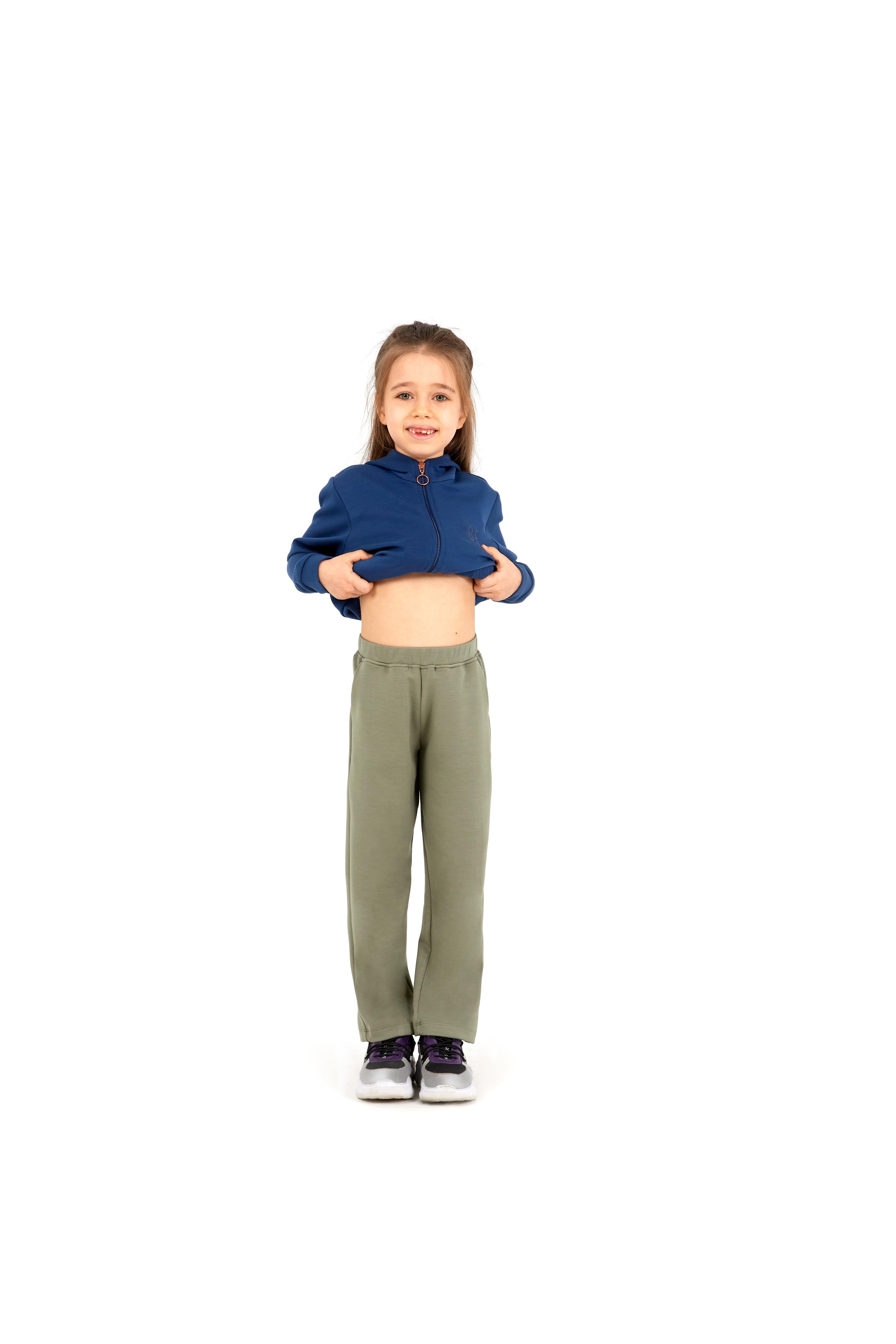 Kız Çocuk Eşofman Altı 60055 - Haki - Thumbnail