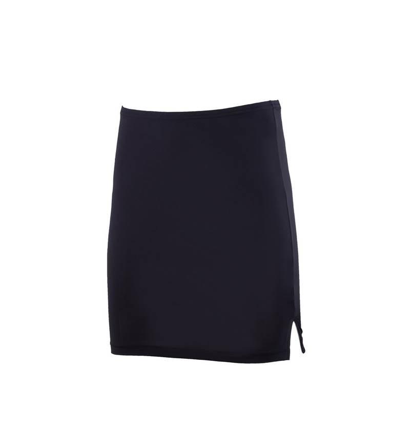 Kadın Jüpon Etek Petticoat 1896 - Siyah