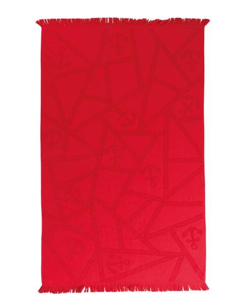 Blackspade - Plaj Havlusu Renkli - 8412 - Kırmızı