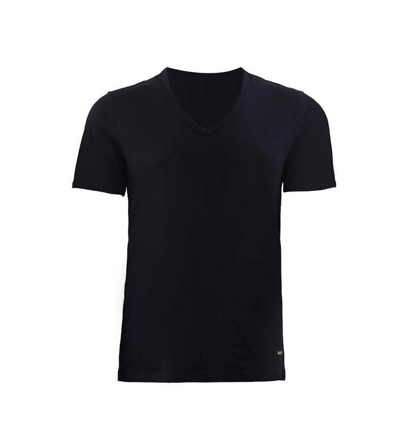 Erkek Tshirt V Yaka Tender Cotton 9239 - Siyah