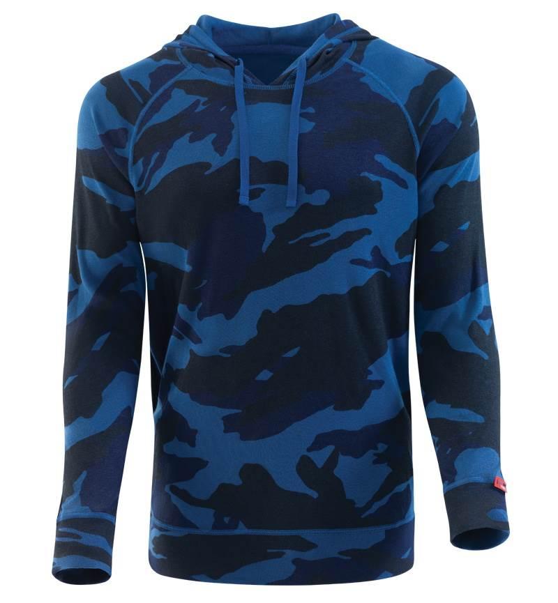 Erkek Termal Sweatshirt 2. Seviye 7579 - Mavi